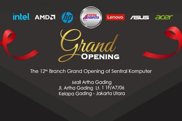 Grand Opening Toko Sentral Komputer yang ke 12