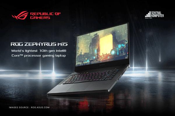 """ASUS ROG Zephyrus M15 (GU502LW) : """"Laptop Gaming Kencang, Tidak Harus Memiliki Dimensi Tebal"""""""